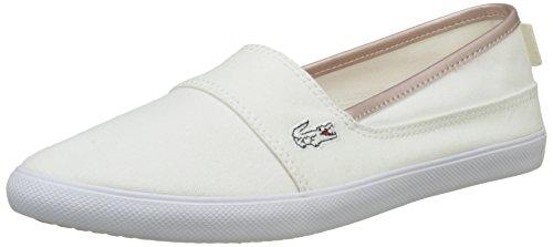 Lacoste Damen Marice 217 2 Espadrilles, Weiß (Blanc), 40.5 EU (Schuhe Womens Krokodil-heels)