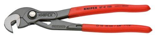KNIPEX 87 41 250 SB LLAVE MULTIPLE AJUSTABLE GRIS ATRAMENTADO RECUBIERTOS DE PLASTICO ANTIDESLIZANTE 250 MM