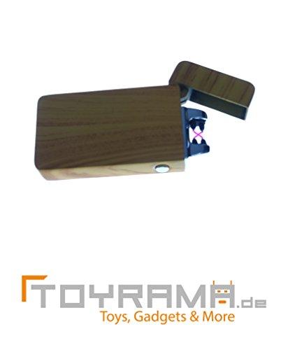 Lichtbogen Feuerzeug - Holzfarben