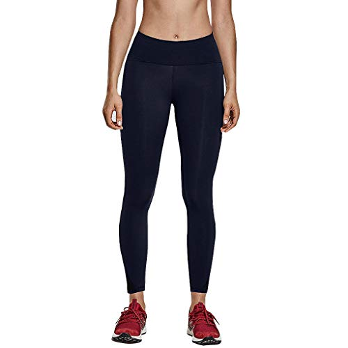 Dasongff Damen Yoga Leggings Sporthose Sport Leggings Tights High Waist Elastische Tummy Control Yogahose Mesh Patchwork Sweathose Freizeithose -