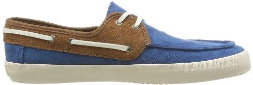 Vans M Chauffeur (Suede), Herren Sneaker Blau - Bleu (Dachshu)