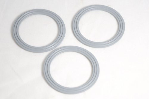 Unidades 3 Kenwood de pincel para base de goma de sellado de los anillos - WVE,650544