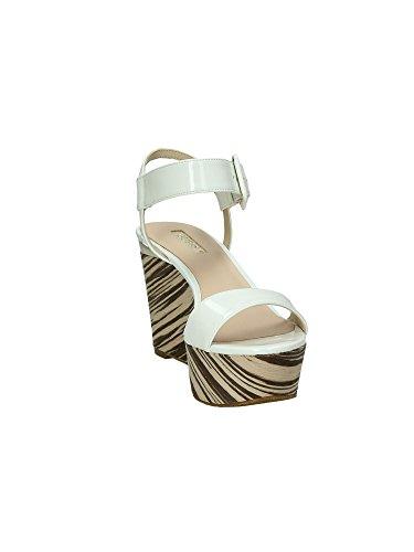 GUESS Patent Pu, Mules pour Femme - beige - beige, EU white