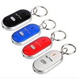 #7: Cpixen LED Key Finder Locator Find Lost Keys Chain Key chain Whistle Sound Control