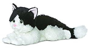 Aurora Flopsies, Oreo, 31420, 12 Pulgadas, Gato Blanco y Negro de Peluche