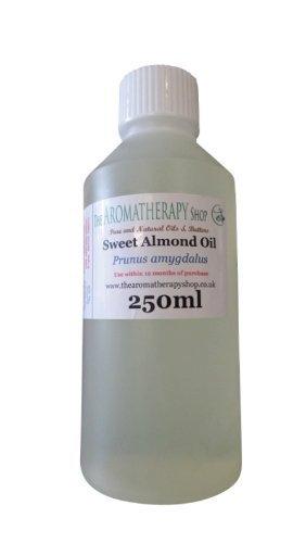 Doux Amande Pure Organique Huile 250ml / Presséà Froid