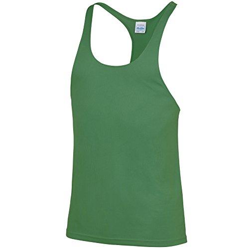 Kühle Muskelweste Kelly-Grün