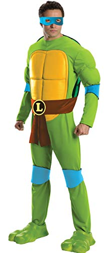 Teenage Mutant Ninja Turtles Leonardo Deluxe Erwachsene Kostüm (X-Large)