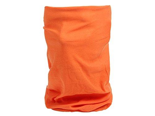 Alsino Multifunktionstuch Funktionstuch 25 Modelle Halstuch Multischal Multiscarf Funktionstücher große Farbauswahl (MF-229 orange)