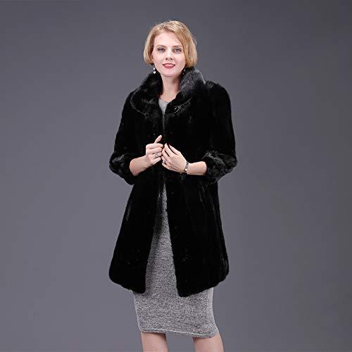 ZYJANO Warmer Mantel,Frauen Neue Winter warme Mode europäischen und amerikanischen Frauen Streetstyle 4