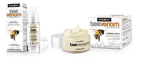 Bienengift-Set - Bienengiftcreme (50 ml) mit Bienengiftserum (30 ml) Anti-Aging Tagescreme...