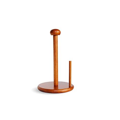 Frei stehende hölzerne bewegliche rollenhalter,Gewebe-rack süß einfach persönlichkeit kreative bad küche toilettenpapierhalter-B 17.3x26.5cm(7x10inch) (Frei Stehende Box)