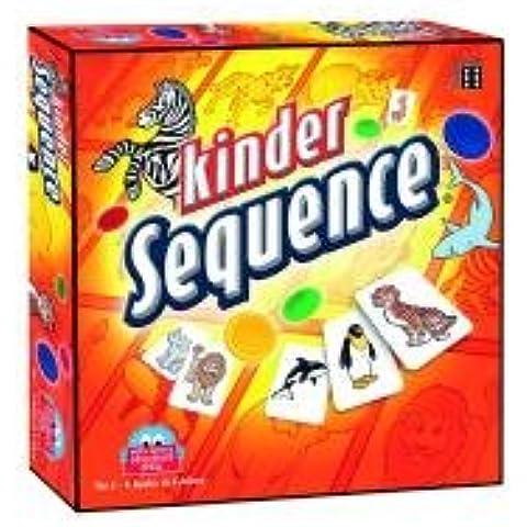 Winning Moves 20844 Sequence Junior - Juego de mesa para niños [Importado de Alemania]