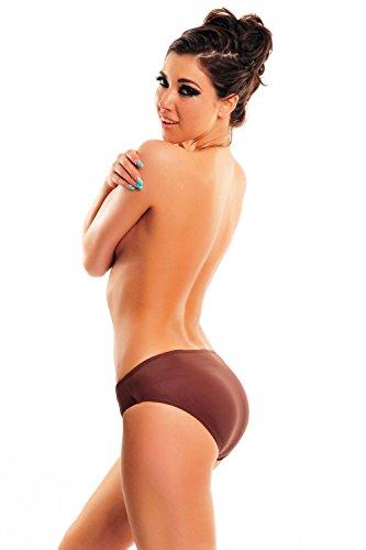 Figurformende Bikini Hose in verschiedenen Farben oct-mar-S10-f3756 Braun