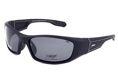 Xtreme Plus Sport Herren Damen Polarisierte Sonnenbrille Hellgrau Sun Brillen für Outdoor Sports Herren Frauen Radfahren, Laufen, Fahren mit UV400 Schutz Blendschutz Sporting Gläser