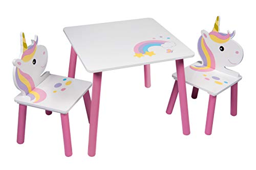 LICORNE Table et 2 chaises Sets De Table