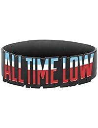 All Time Low Poignet Bandeau Baltimore band logo future hearts officiel Noir