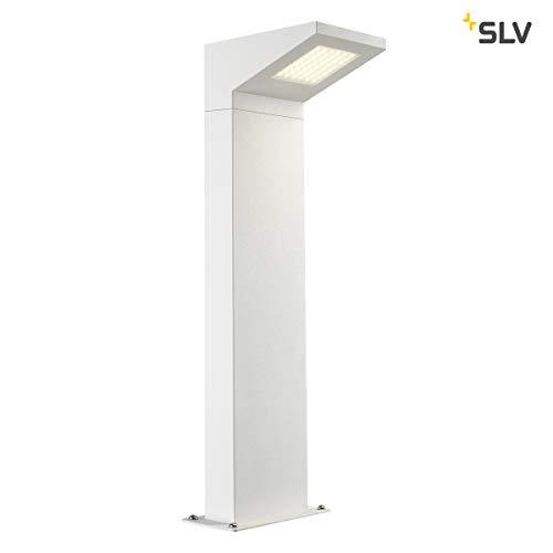 SLV LED Außenleuchte IPERI 50 | Design Aussen-Standleuchte, stilvolle Außenbeleuchtung | Outdoor LED Wege-Leuchte, Pollerleuchte, Weg-Beleuchtung, Garten-Lampe, Gartenbeleuchtung | LED Inside, A-A++