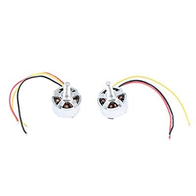 Homyl 2pcs Electric Motor CW CCW for MJX B3 Mini Bugs 3 Racing Drone Spare Parts from Homyl