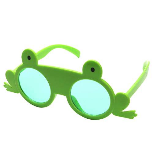 BESTOYARD Lustige Tanzparty Makeup Brille Frosch Brillen für Maskerade Party