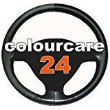 Colourcare24-Kit-ritocco-vernice-Volante-in-Pelle-eco-pelle-similpelle-per-Mazda-ripristina-colore-sterzo-tonalit-Nero-opaco-per-Mazda-da-30-ml-semplice-applicazione-alternativa-al-coprivolante