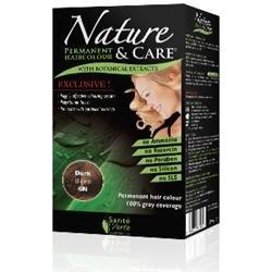 Santé verte - Nature & soin Blond Foncé 6N sans ammoniaque, sans paraben, sans silicone et sans résorcine