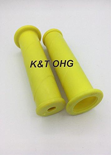 Schubkarrengriffe 32 mm 2 Stück/1Paar gelb