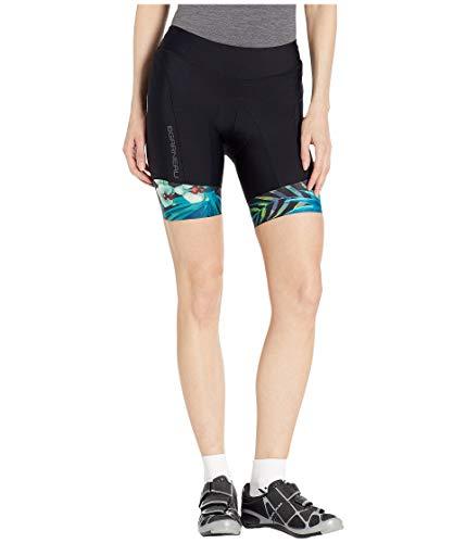 Louis Garneau Damen Pro 8 Carbon Gepolsterte Triathlon Shorts mit Taschen, Damen, Tropical, X-Small -