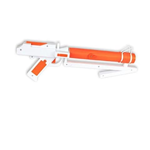 Star Wars Clonetrooper Blaster orange-weiß (Star Wars Clone Trooper Kostüm Kinder)