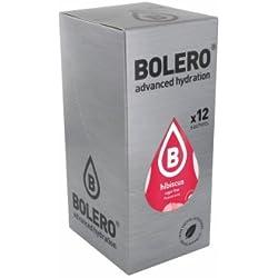 Bolero Bebida Instantánea Sabor Hibisco - Paquete de 12 x 36 gr - Total: 432 gr