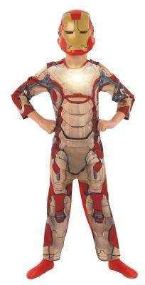 Iron Man 3 Deluxe - Kinder-KostŸm - Klein - (Outfit Man Iron)