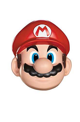 (KULTFAKTOR GmbH Super Mario Videospiel Maske Lizenzware rot-Haut Einheitsgröße)