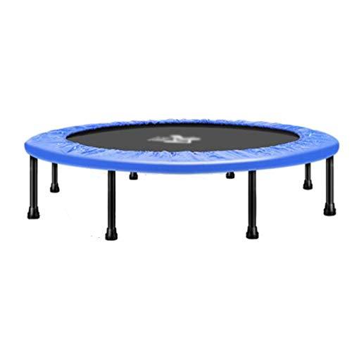 GXY Trampolin Gewichtsverlust-Trampolin Trampolin für Erwachsene Trampolin für den Innenbereich Steigern der Tragkraft Kann 150 kg tragen (Color : Blue, Size : 96 * 96 * 28CM)