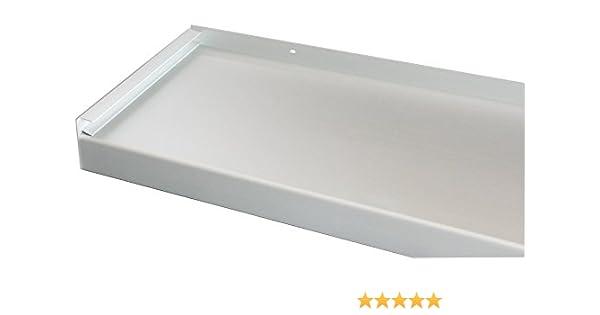 Fensterbank Silber Ohne Seitenteile Fensterbrett 70 mm Tief 1300 mm Lang
