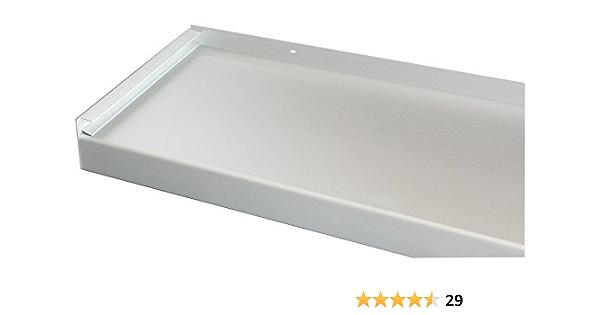 Silber 2000 mm Lang Fensterbrett 280 mm Tief Fensterbank Ohne Seitenteile