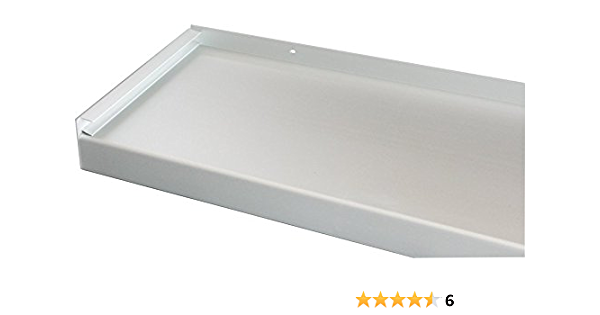 Wei/ß Fensterbrett 165 mm Tief Fensterbank Ohne Seitenteile 1800 mm Lang