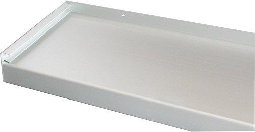 Fensterbank, Fensterbrett 110 mm Tief, 1200 mm Lang - Silber (Ohne Seitenteile)