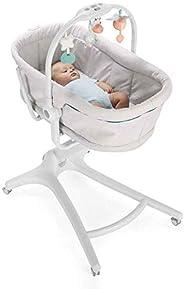 Chicco Baby Hug 4 i 1 barnvagn, från 0 månader, upphöjd babysäng, barnstol med lekbåge, upp till 15 kg, juster