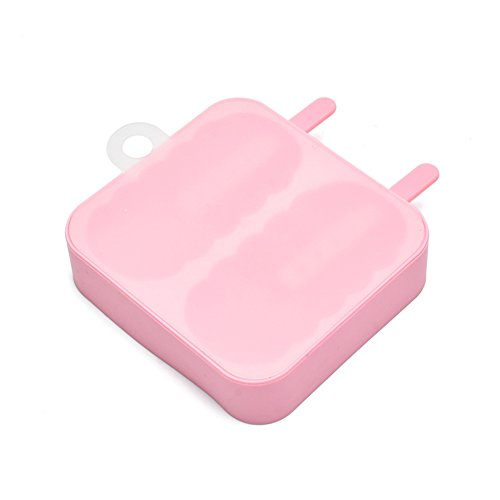 yiliag Lovely Candy Farben Silikon Ice Pop Form Eis Form rose (Candy Icecream Maker)
