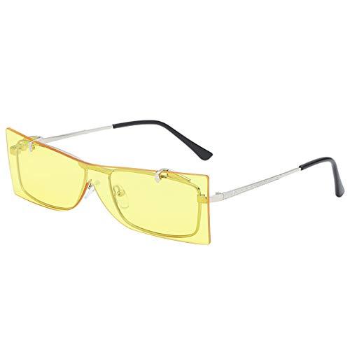 Jaysis Mode Flip Cover Sonnenbrillen Brille Vintage Retro Style Metallrahmensonnenbrille ringe toy favors supplies taschenfüller klassenzimmerpreis, pinata neon farben gefälligkeiten set erwachsene