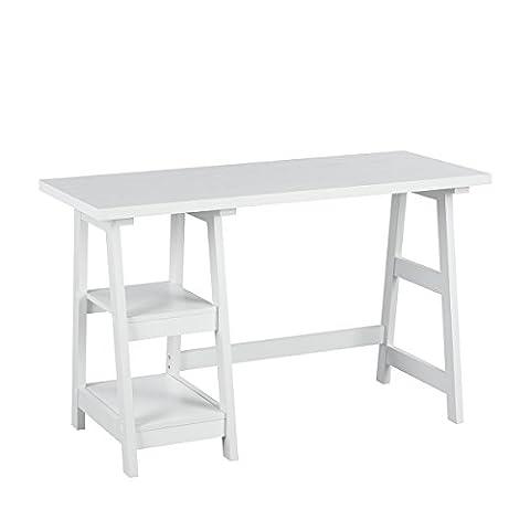 Innovareds élégante simples et économiser de l'espace d'écriture Desk Home Study Desk Table Bureau tâche Table console Table Salon couloir côté tableau blanc