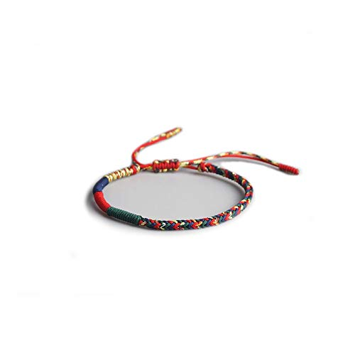 EXINOX Bracelet traditionnel bouddhiste tibétain pour homme et femme