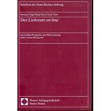 Der Lieferant on line: Just-in-Time-Produktion und Mitbestimmung in der Automobilindustrie (Schriften der Hans-Böckler-Stiftung)
