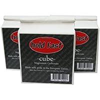 3er Pack hold fast Chalk Cubes, 3 Stück zu je 56g chalk, einzeln im Papierbeutel verpackt, Magnesiawürfel,
