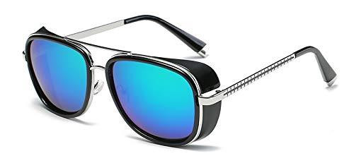 Onizah - Iron Man 3 Matsuda TONY stark Sonnenbrillen Herren Rossi Beschichtung Retro Vintage Designer Sonnenbrille Oculos Masculino Gafas de [C4]