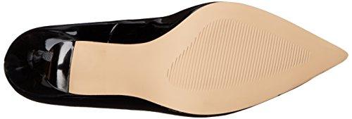 Pleaser Classique-20, Chaussures à Talons-avant du Pieds Couvert Femme Noir (Blk Pat)
