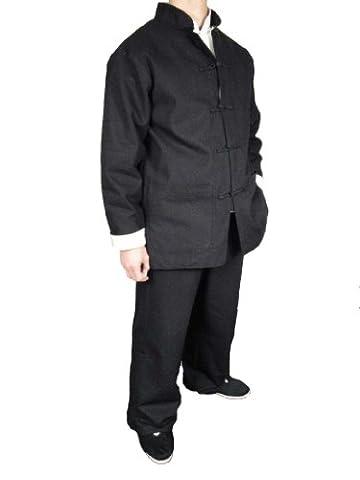 Chi-chi Costume - Lin Premium Tenue Noire Kung Fu Tai