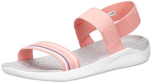 Crocs Literide Sandal 205106-97w Sandalias con Punta Abierta para Mujer