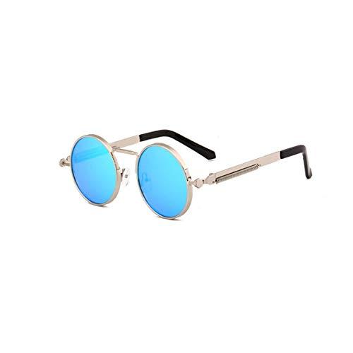 CHUJIAN Sonnenbrillen, Männer und Frauen Casual Fashion Persönlichkeit Round Frame Sonnenbrillen, Retro Sonnenbrillen, dekorative Gläser, hohe Qualität, Hohe Qualität - das Beste Gesche