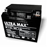 Ultramax NP35–12, 12V 35Ah, ore (come 30Ah, 32Ah, 33AH & 36Ah) Sedia a rotelle, tosaerba, Jump Starter battery